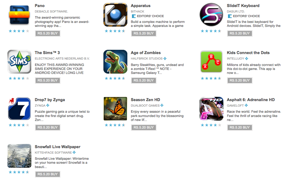 Today's Apps For Download