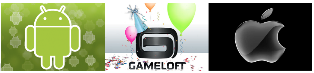 Gameloft Year End Sale Apps for Android, iPhone and iPad at 0.99$