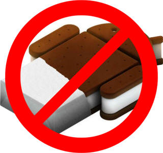 No Ice Cream Sandwich for Galaxy S and Galaxy Tab
