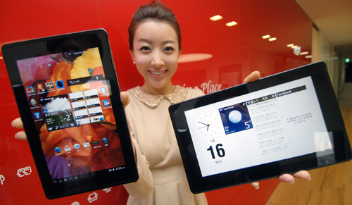 LG Optimus Pad LTE is now official.