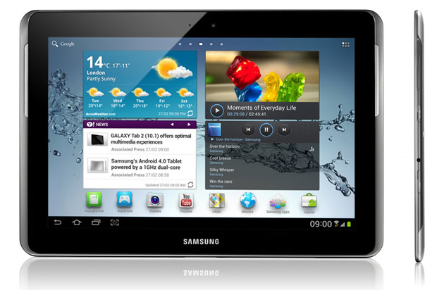 Samsung introduces the Galaxy Tab 2 (10.1-inch) Android ICS tablet