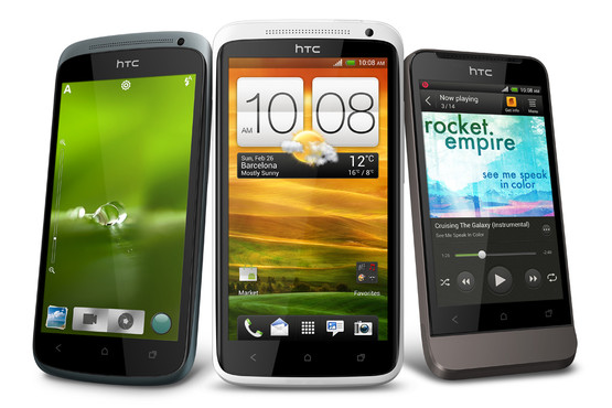 HTC One S, HTC One V, and HTC One X available for preorder with Clove UK