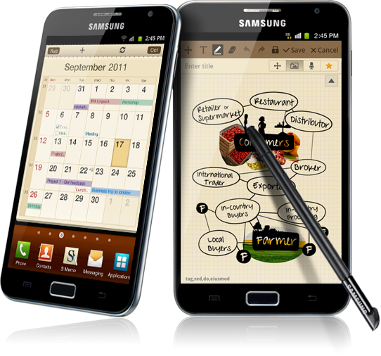 Samsung Galaxy Note makes its way to Canada
