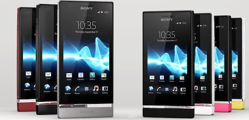 Sony Xperia P and Xperia U announced at MWC 2012